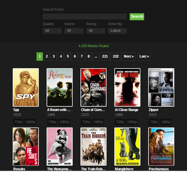 yify proxy yify mirrors alternatives